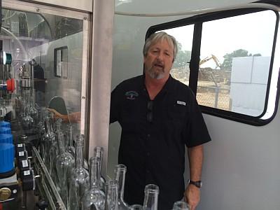 Mobile bottling - Skip Hutnek