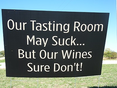 Alexander Vineyards - sign