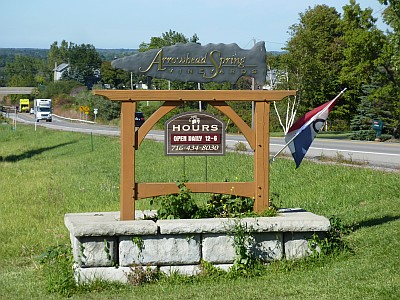 Arrowhead Spring - sign