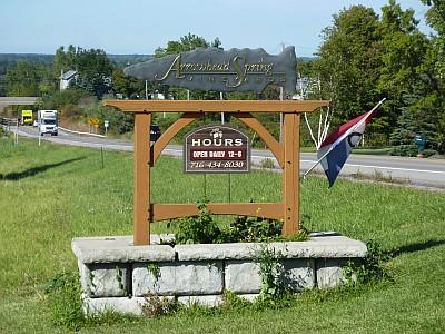 Arrowhead Spring - sign