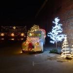 Bastrop Swirl - Christmas lights
