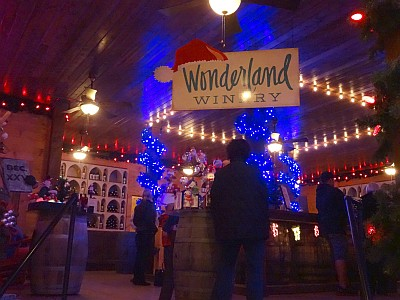 Wonderland Winery - entrance