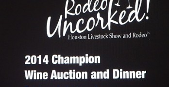 2014 Wine Auction sign