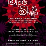 Bryan to Hold First Annual Sip & Shop Wine Swirl