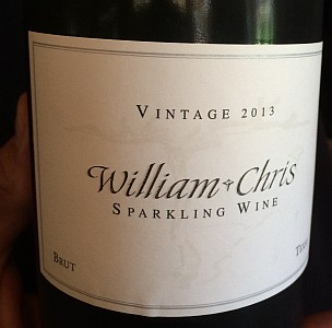 William Chris sparkling wine