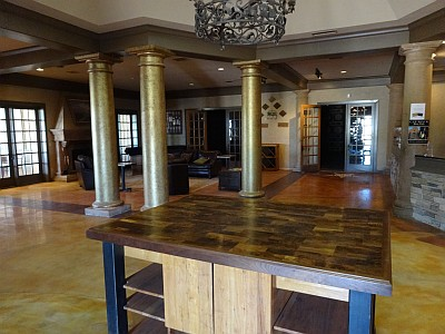 CapRock Winery tasting room