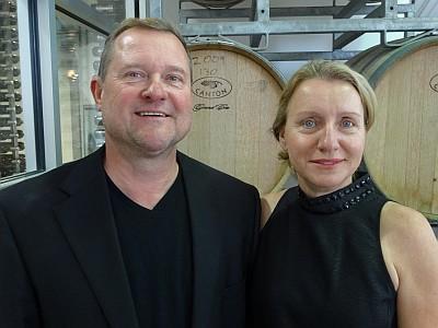 Robert Fritz and Barbara Haderlein - Solaro Estate Winery - Houston