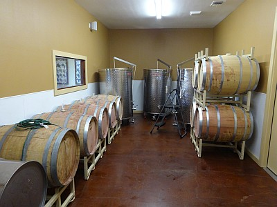 Marker Cellars production area