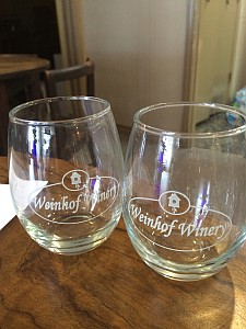 Weinhof Winery - glasses