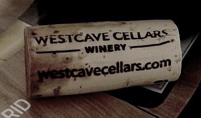 Westcave Cellars cork