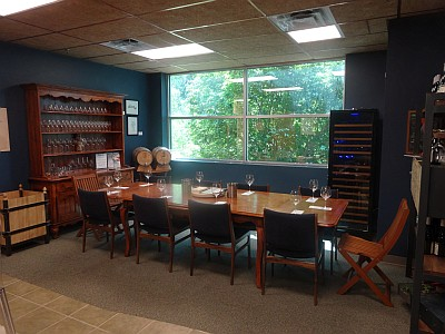 The Austin Winery dining room
