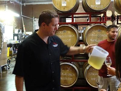 Jason Dodson from Landon Winery