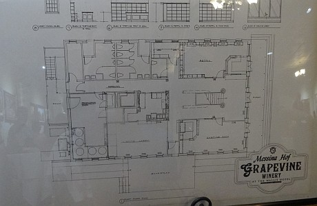 Messina Hof Grapevine Winery blueprint