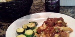Baked Ziti with Sangiovese