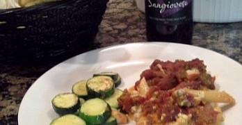 Texas Sangiovese and Pasta Pairing
