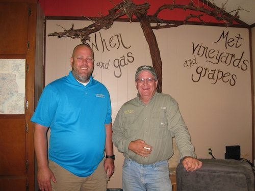 Matt White and Troy Ottmers