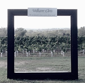 William Chris picture frame