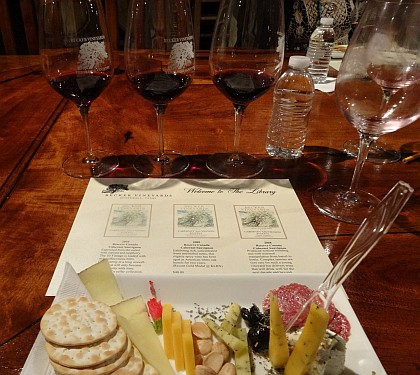 Becker Vineyard's Library Tasting