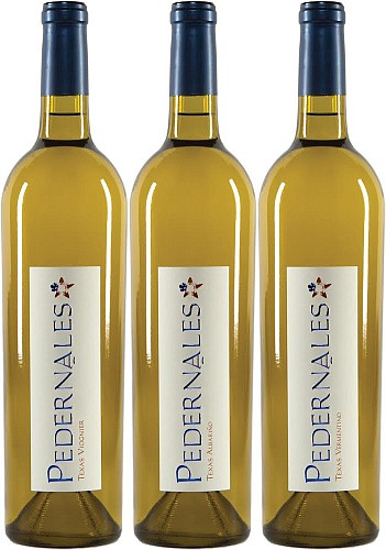 Pedernales Cellars white wines