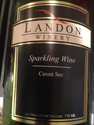 Landon Sparkling wine