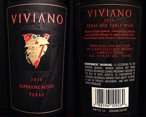 Vivano label