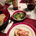 Sloan & Williams Sangiovese with Lasagna