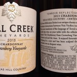 Review of Fall Creek Vineyards Chardonnay 2013