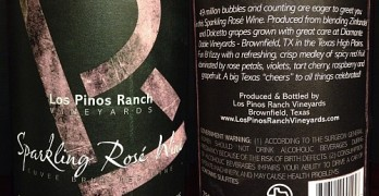 Review of Los Pinos Sparkling Rosé 2013