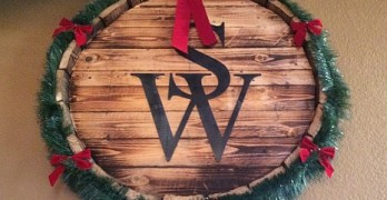 Sloan & Williams barrel sign