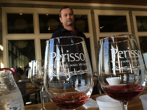 Seth Martin at Perissos Vineyard and Winery