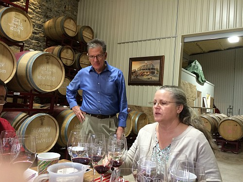 Mike McHenry and Penny Adams of Wedding Oak Winery