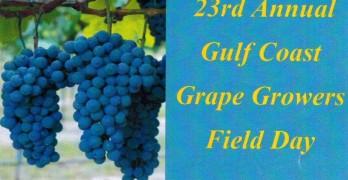 2015 Gulf Coast Grape Grower Field Day