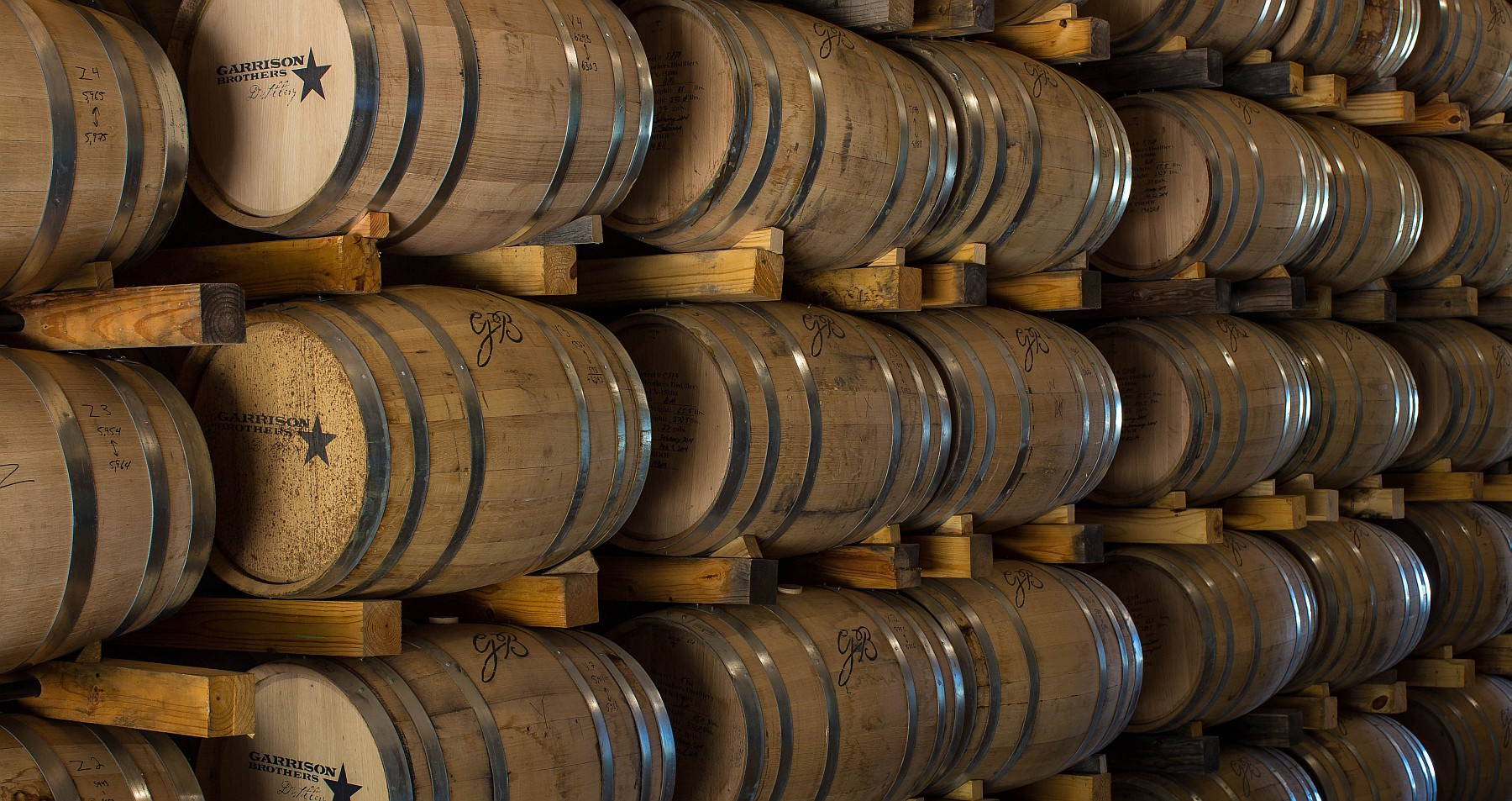 Garrison Brothers barrels