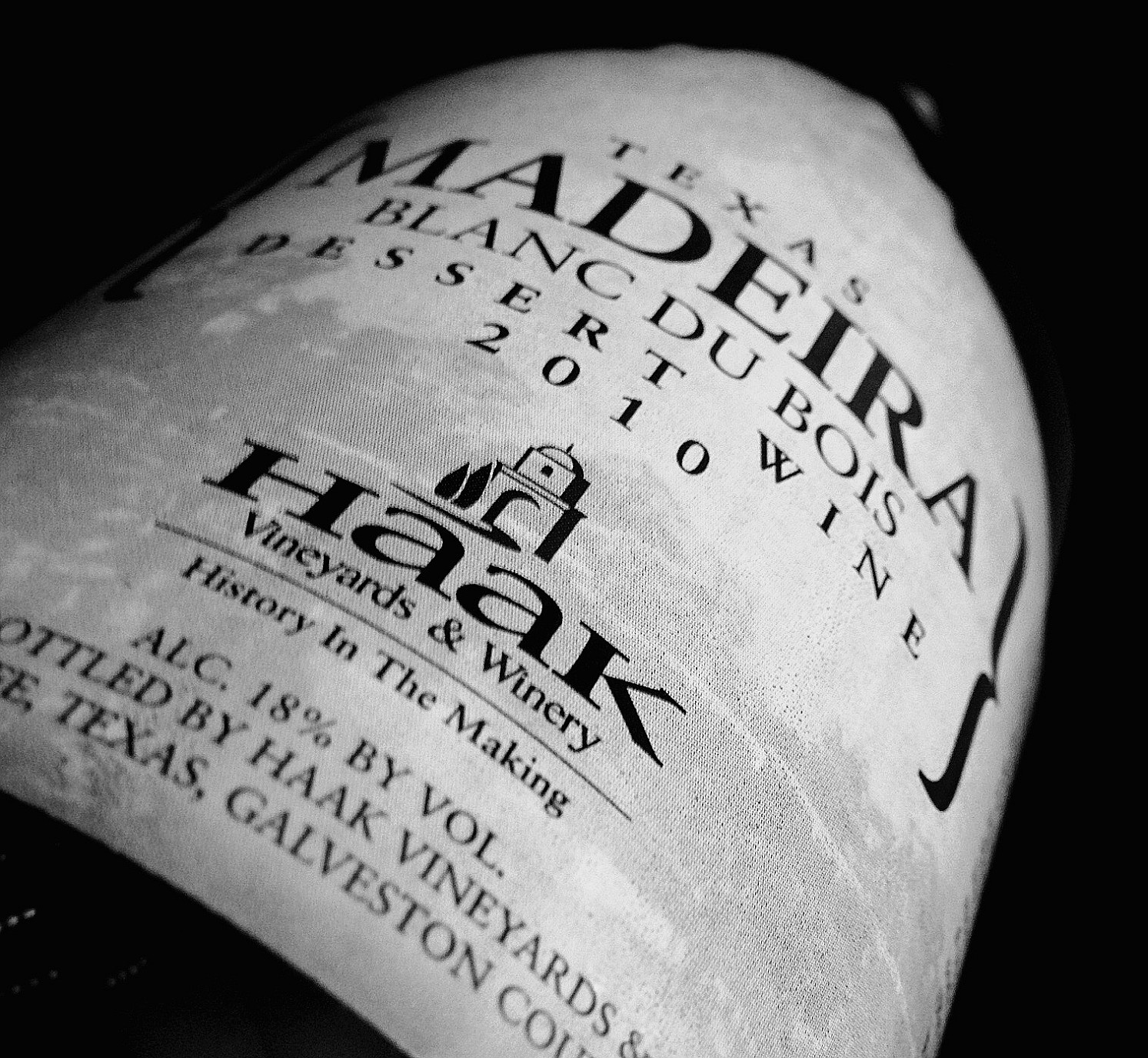 Haak Madeira side bottle