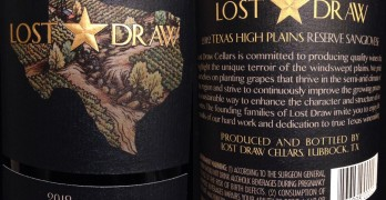 Review of Lost Draw Cellars Reserve Sangiovese 2012