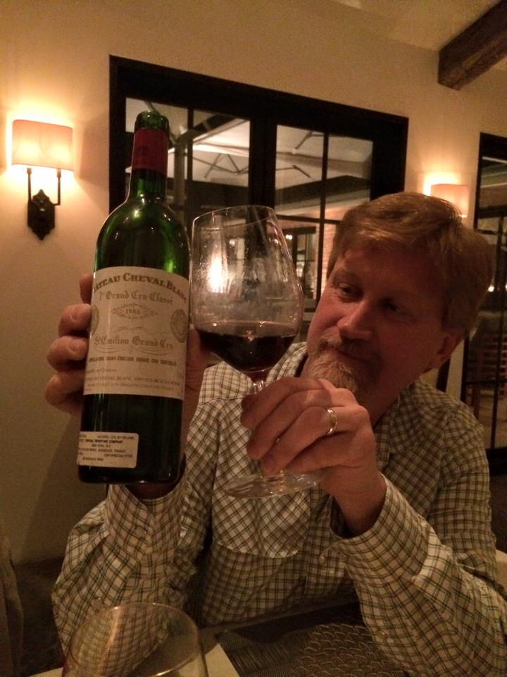Jason Englert of Grape Creek Vineyards