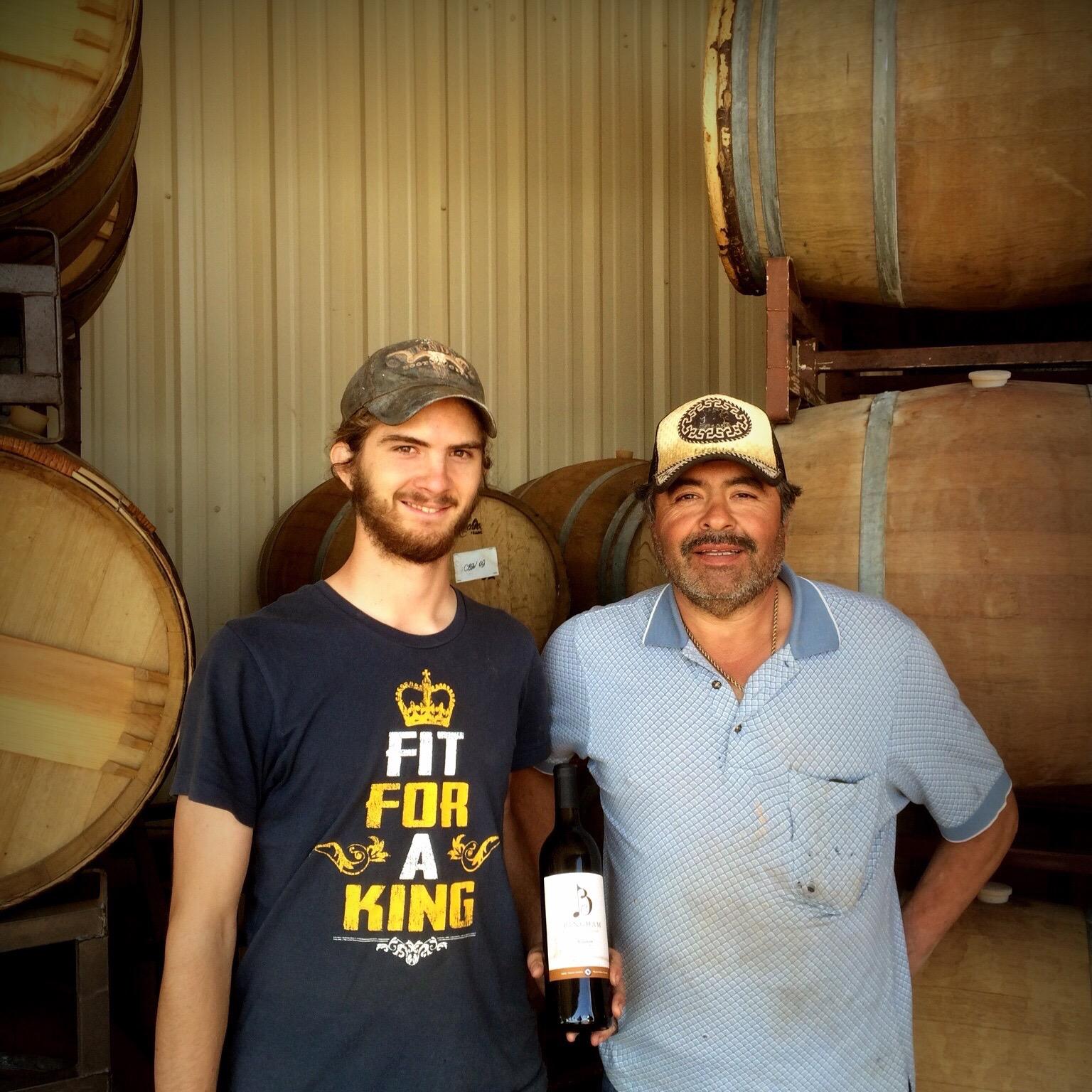 Daniel Bingham and Manuel Lechuga