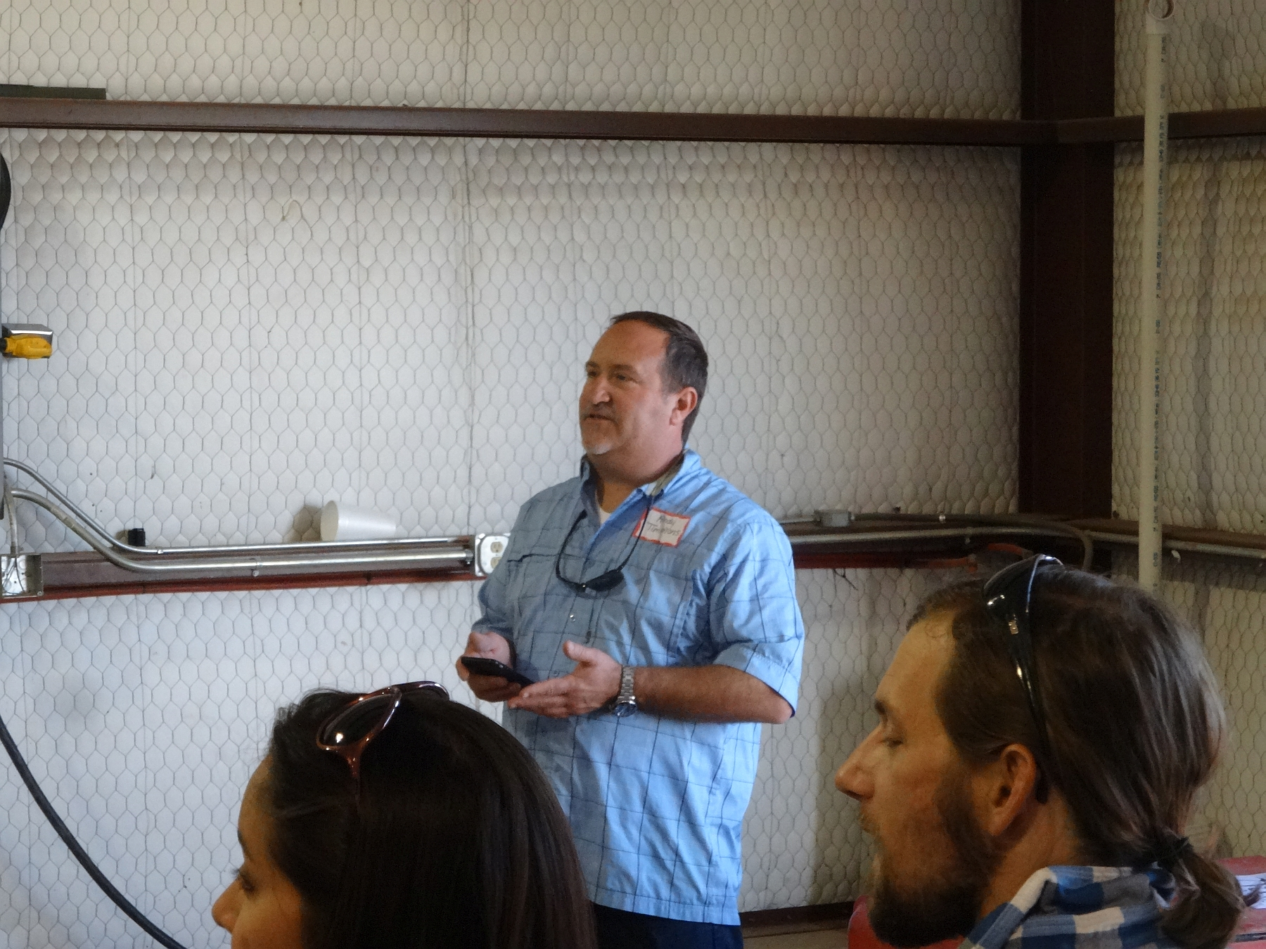 Andy Timmons of Lost Draw Vineyards/Cellars
