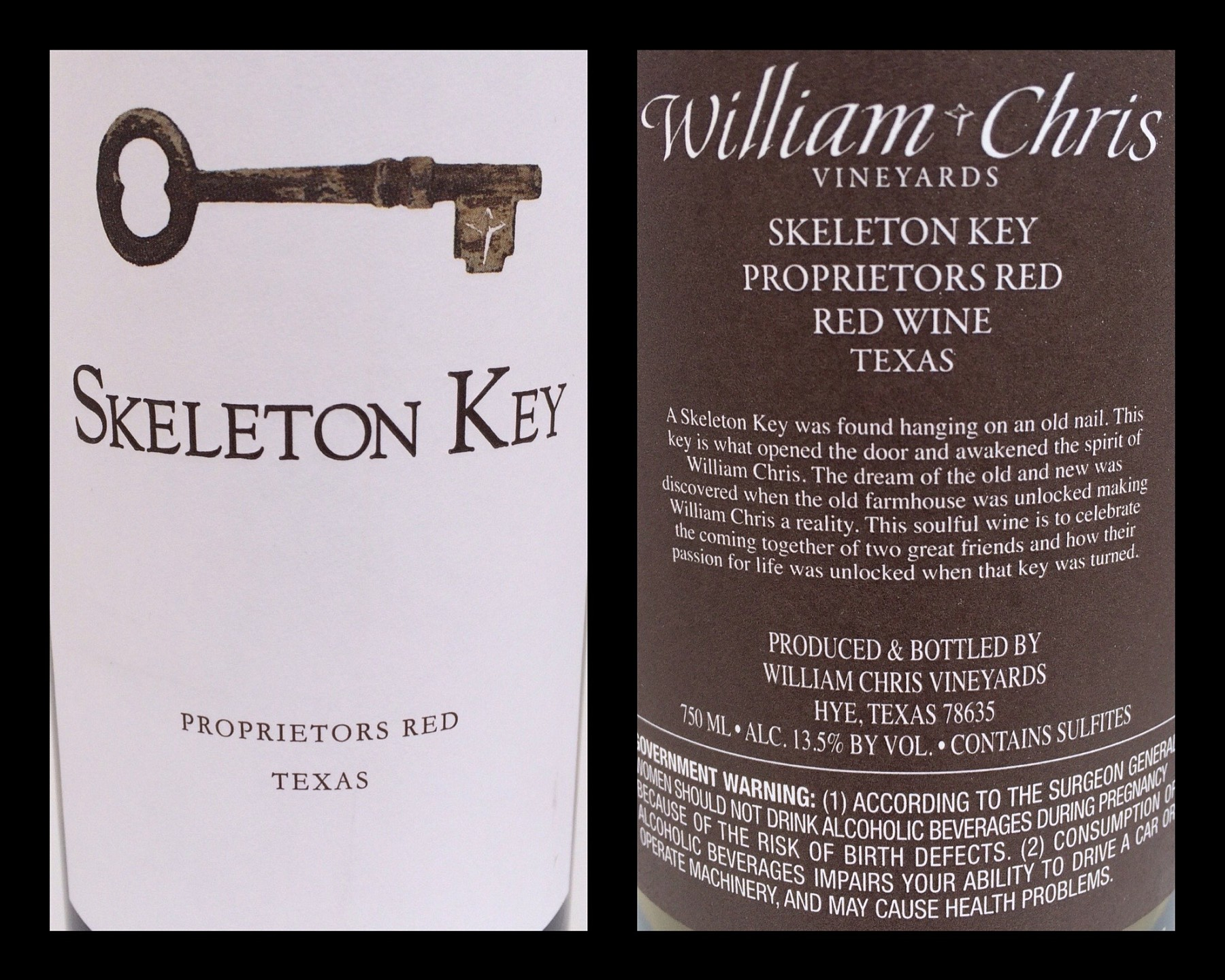 Skeleton Key labels