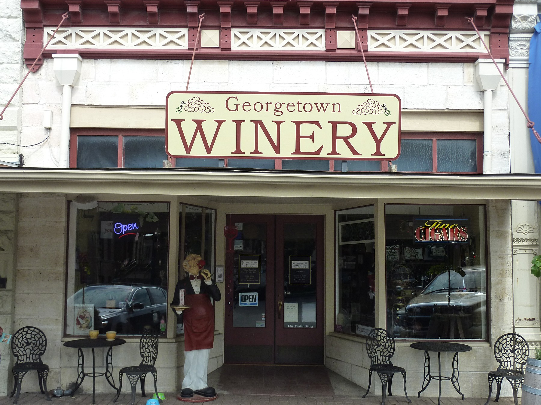 Georgetown Winery outside