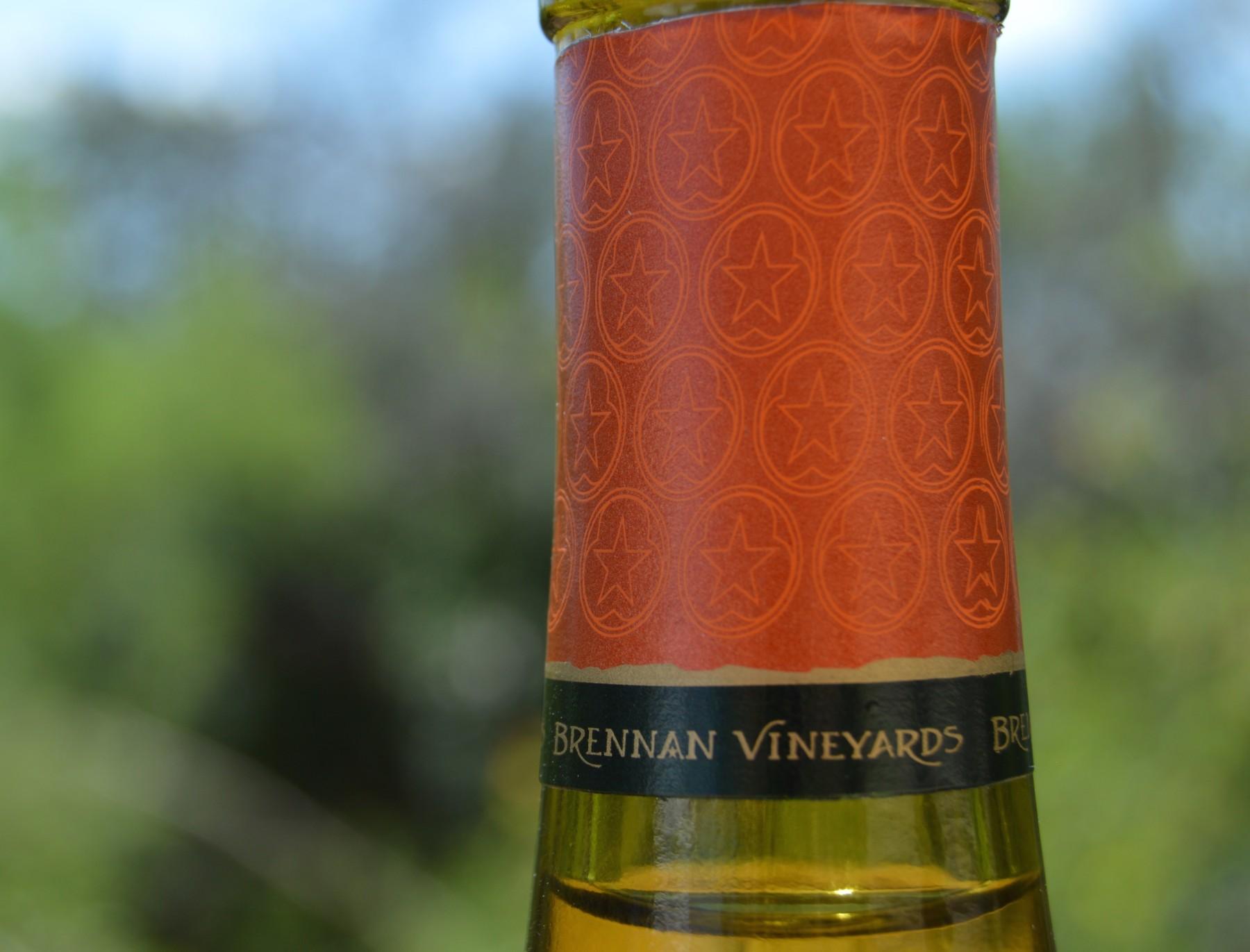 Brennan Vineyards Viognier foil capsule