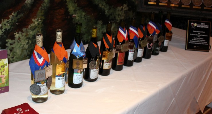 Messina Hof award winning wines
