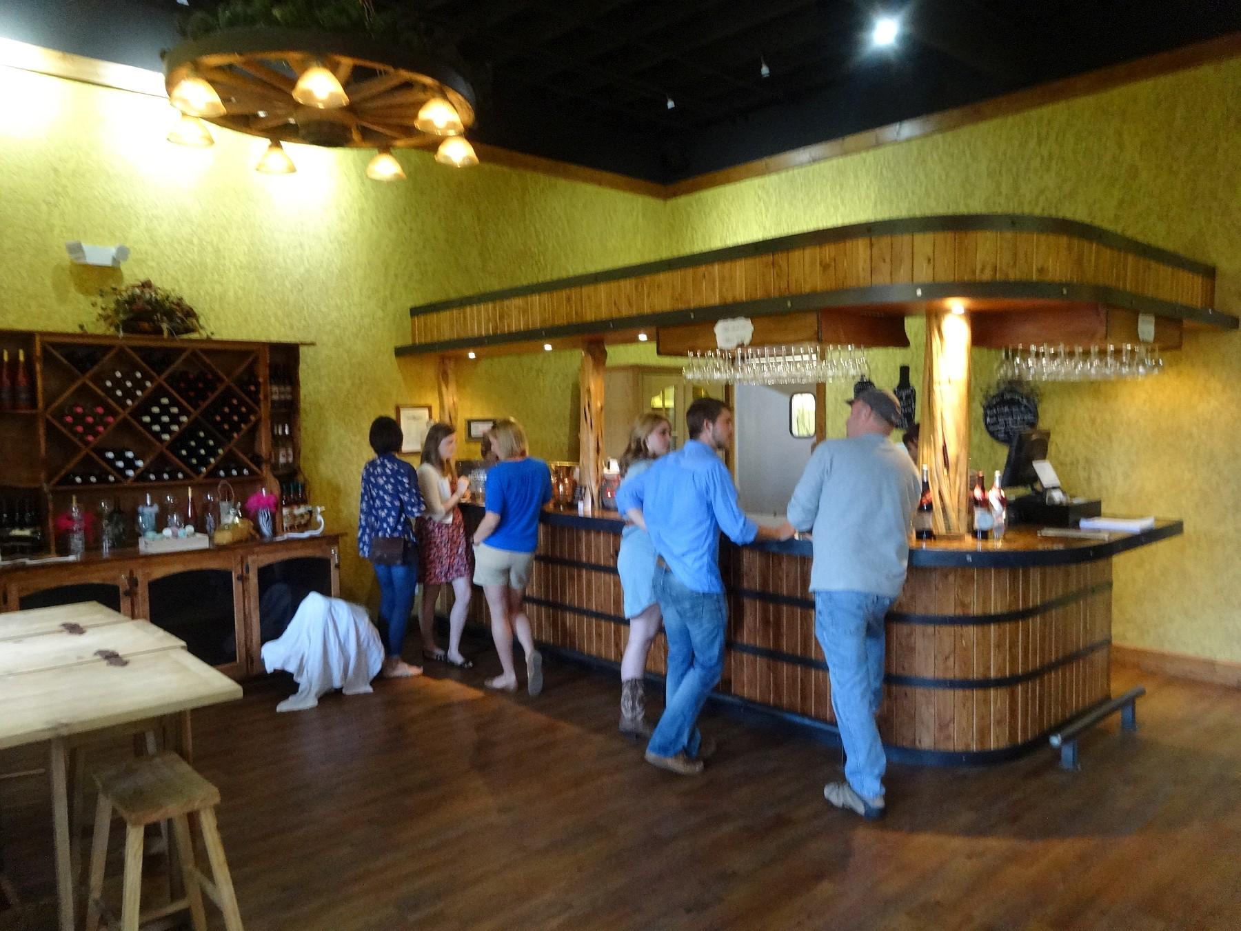 Sweet Springs Winery inside