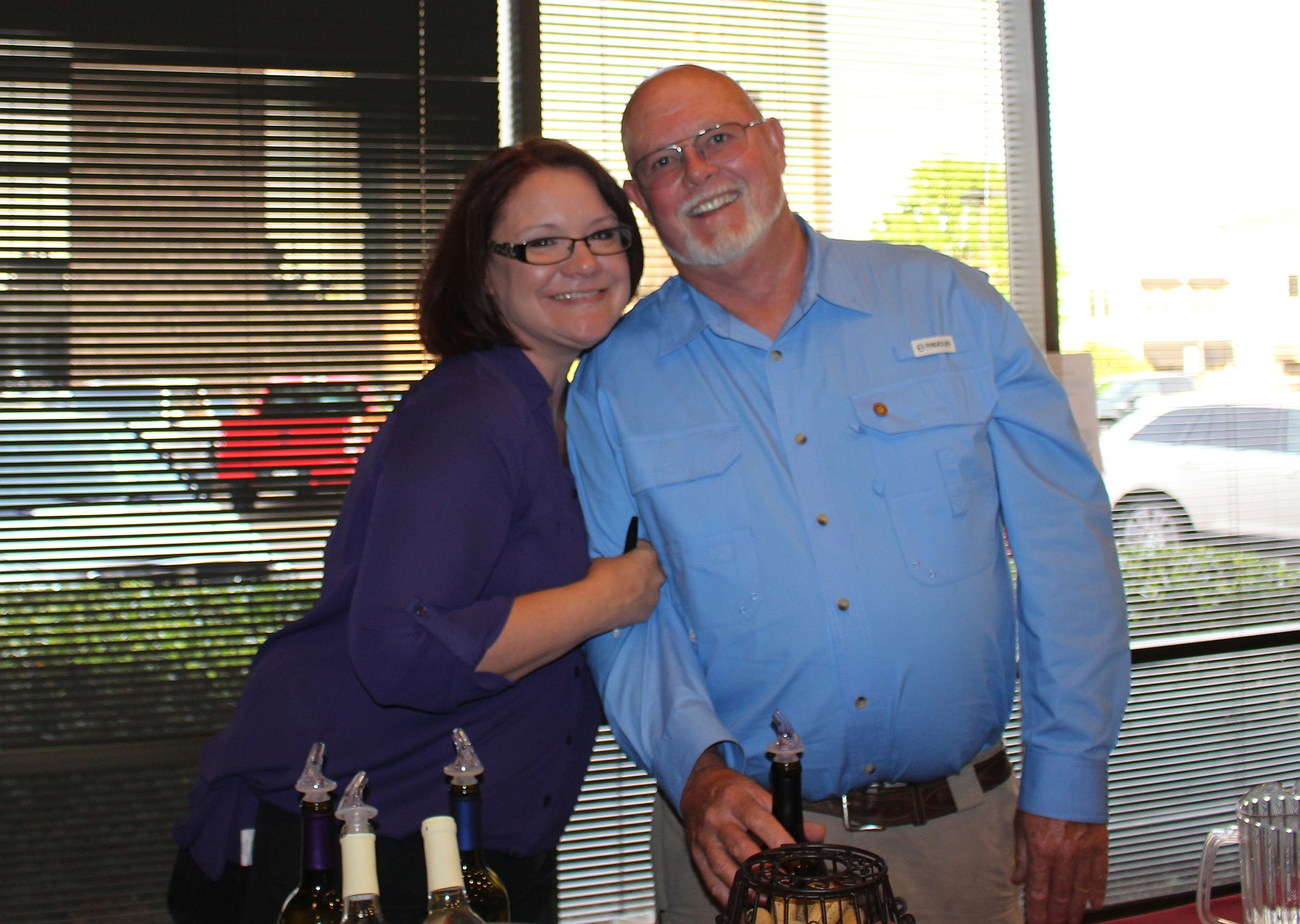 Katherine Jackson and R.L. Winters of Fairhaven Vineyards