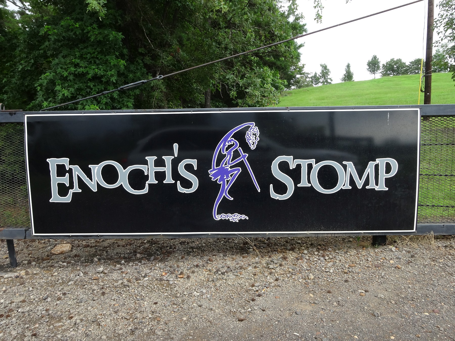 Enoch's Stomp sign