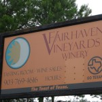 Fairhaven Vineyards – Revisited