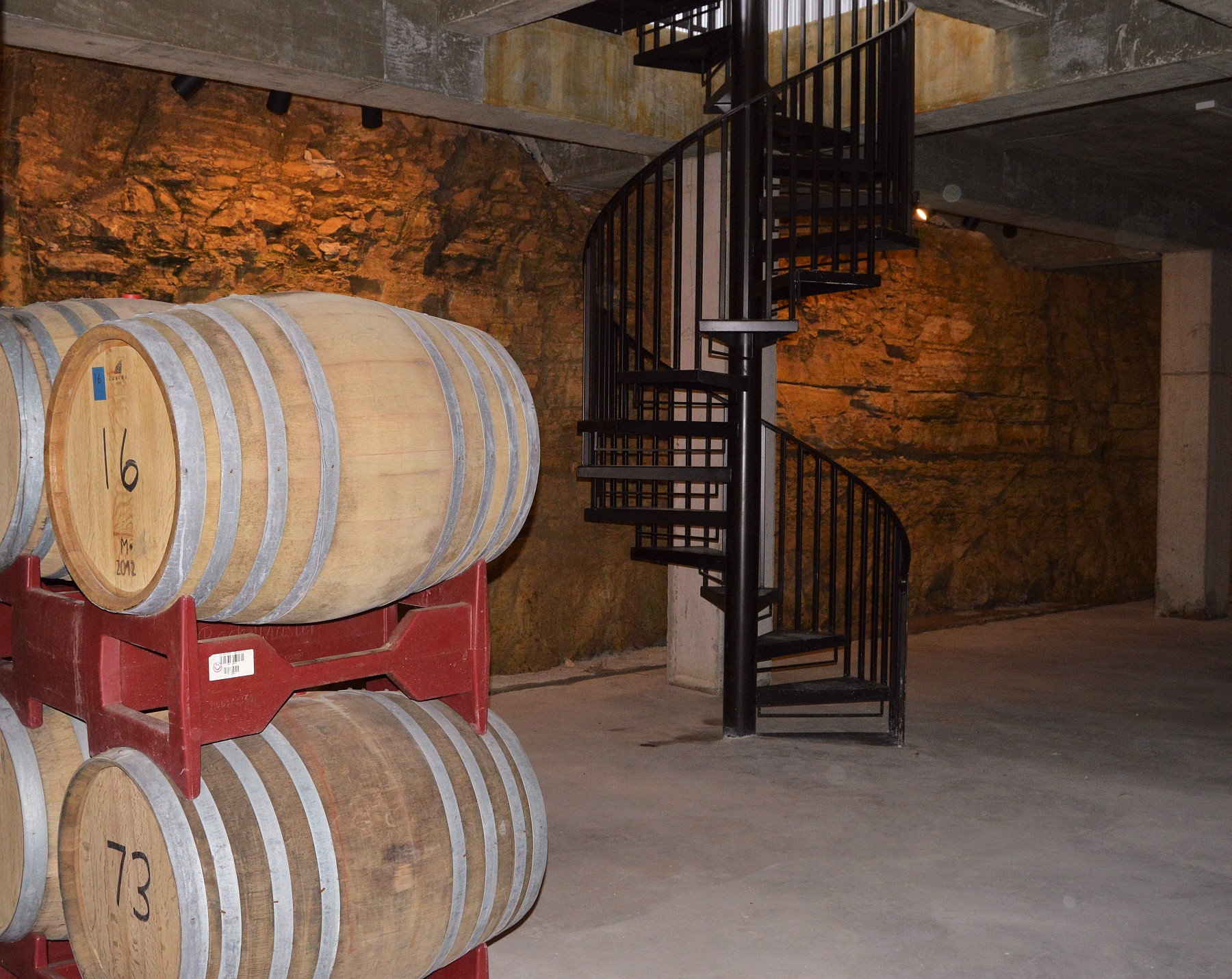 Hawk's Shadow barrel room