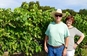 Jim and Karen Johnson of Alamosa Wine Cellars