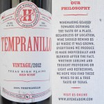 Review of Hye Meadow Winery Tempranillo 2012