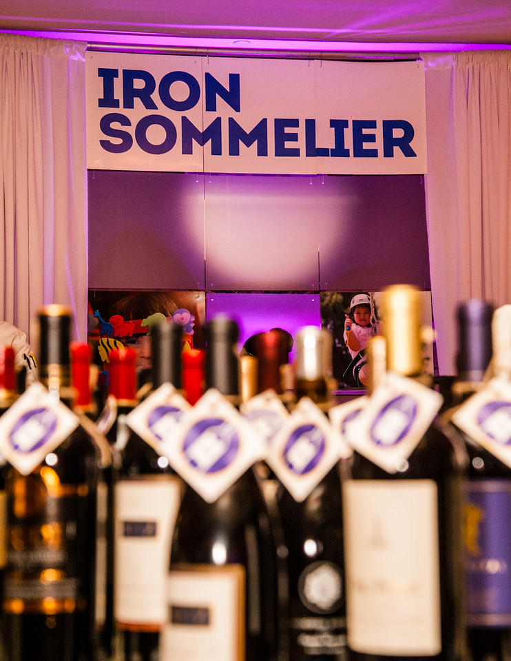 Iron Sommelier sign